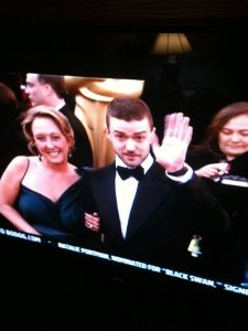 JT wave on TV